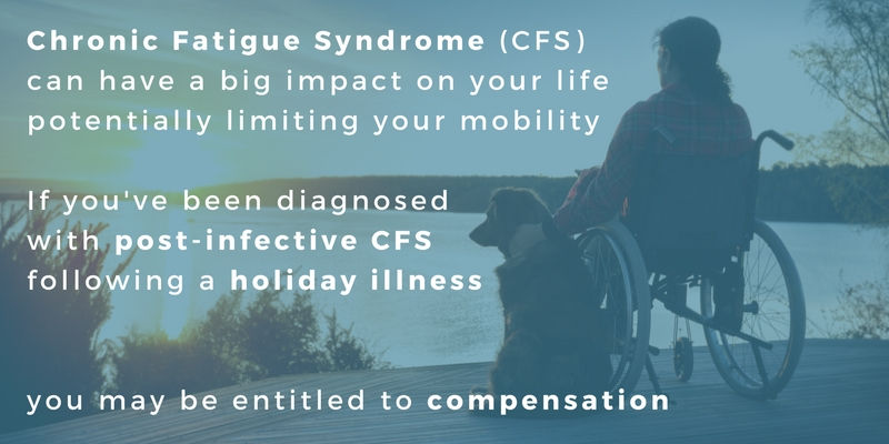 Claim compensation for post-infective Chronic Fatigue Syndrome