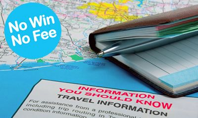 No Win No fee travel law information