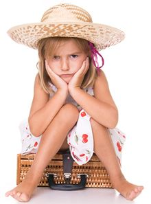 Child sickness on package holiday abroad